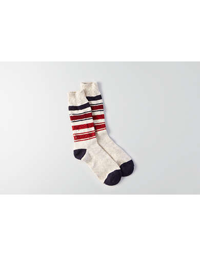AEO Stripe Boot Socks - Buy One Get One 50% Off