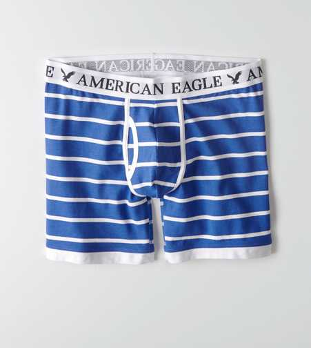 AEO Striped Athletic Trunk