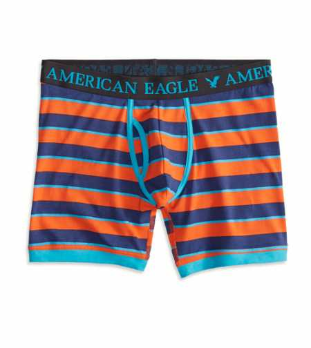 AE Striped Athletic Trunk