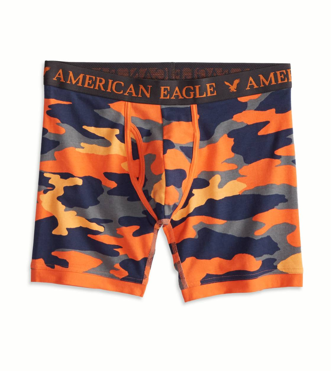 Orange AE Camo Athletic Trunk