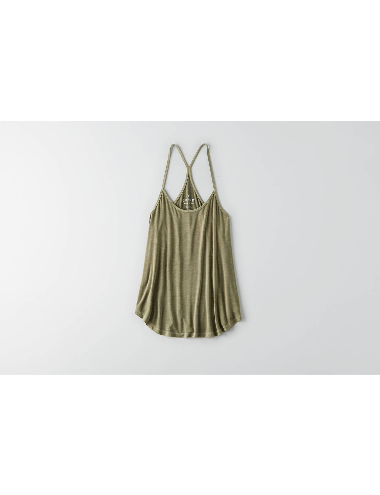 Display product reviews for AEO Soft & Sexy Racerback Swing Tank