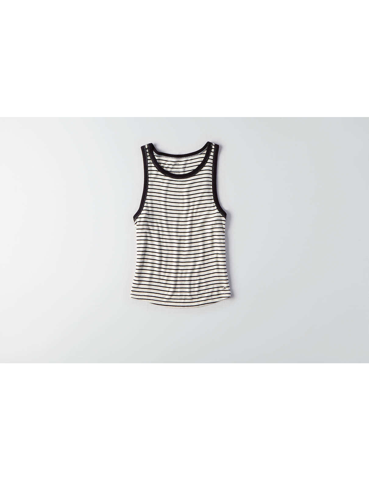 Display product reviews for AEO Soft & Sexy Ribbed Tomgirl Tank