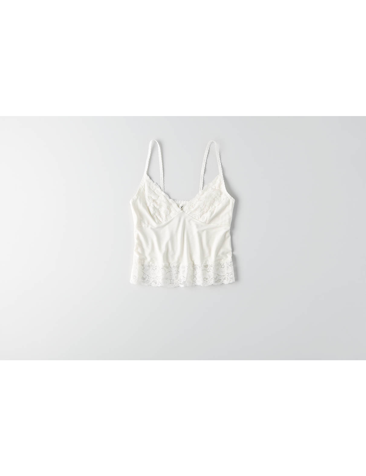 Display product reviews for AEO Soft & Sexy Lace Trim Cami