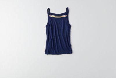 Soft & Sexy Ribbed Hi-Neck Tank