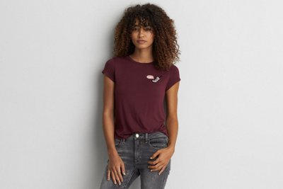 Soft & Sexy Patch Tomgirl T-Shirt