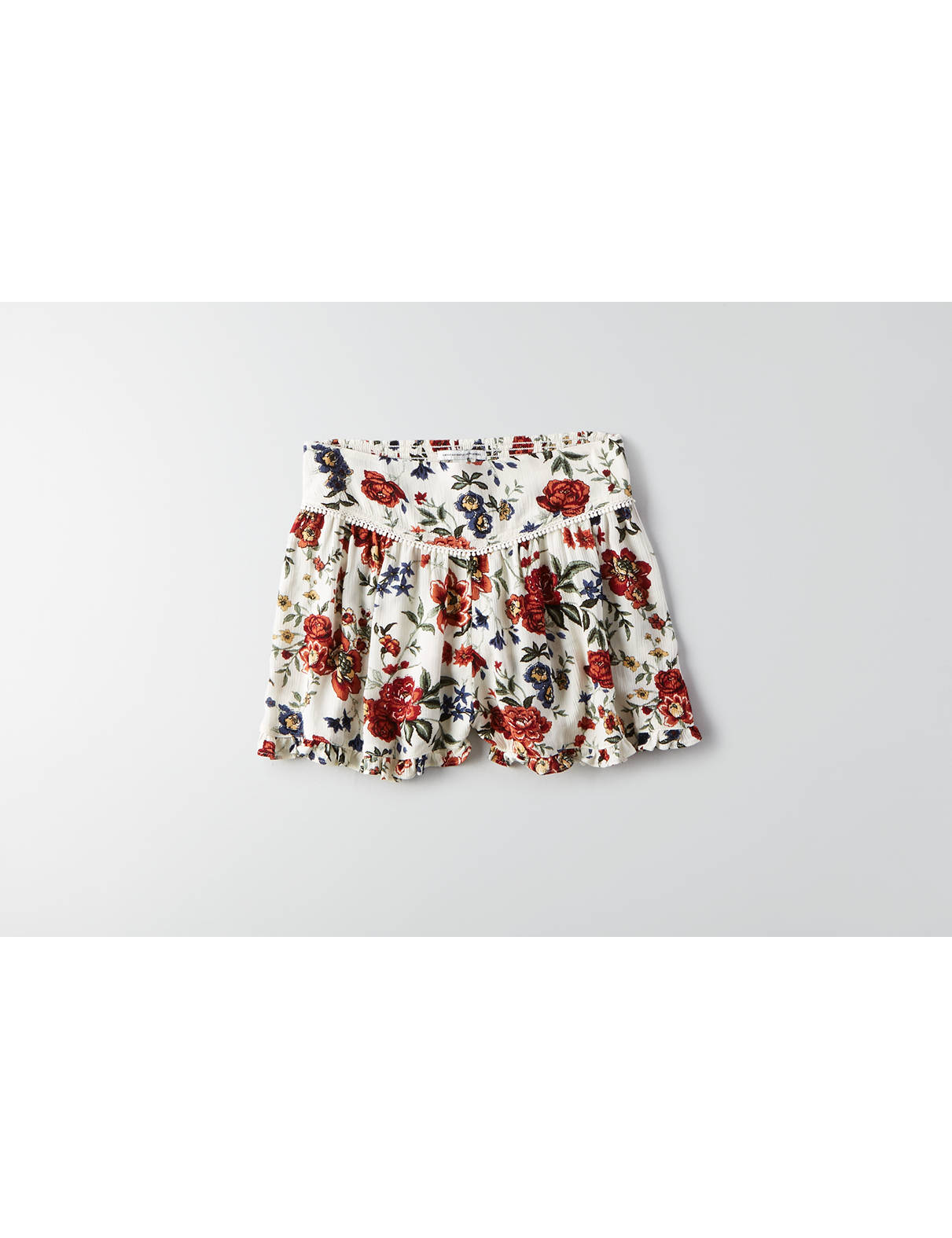 Display product reviews for AEO Ruffle Soft Short