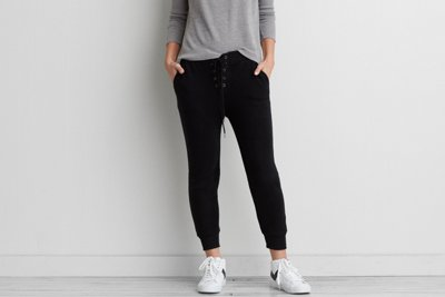 Ahh-mazingly Soft Lace-Up Jogger Pant