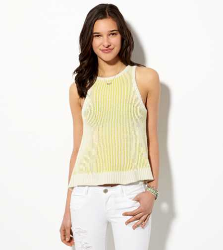 AE Ribbed Sweater Tank - Buy One Get One 50% Off