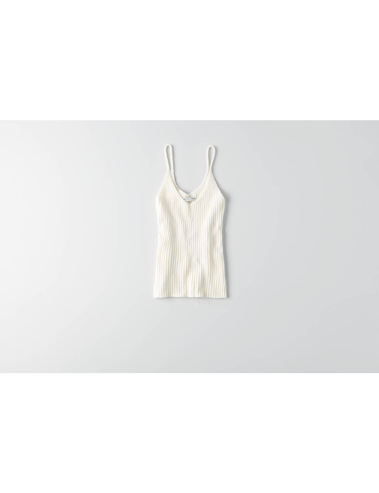 Display product reviews for AEO Ribbed Tank