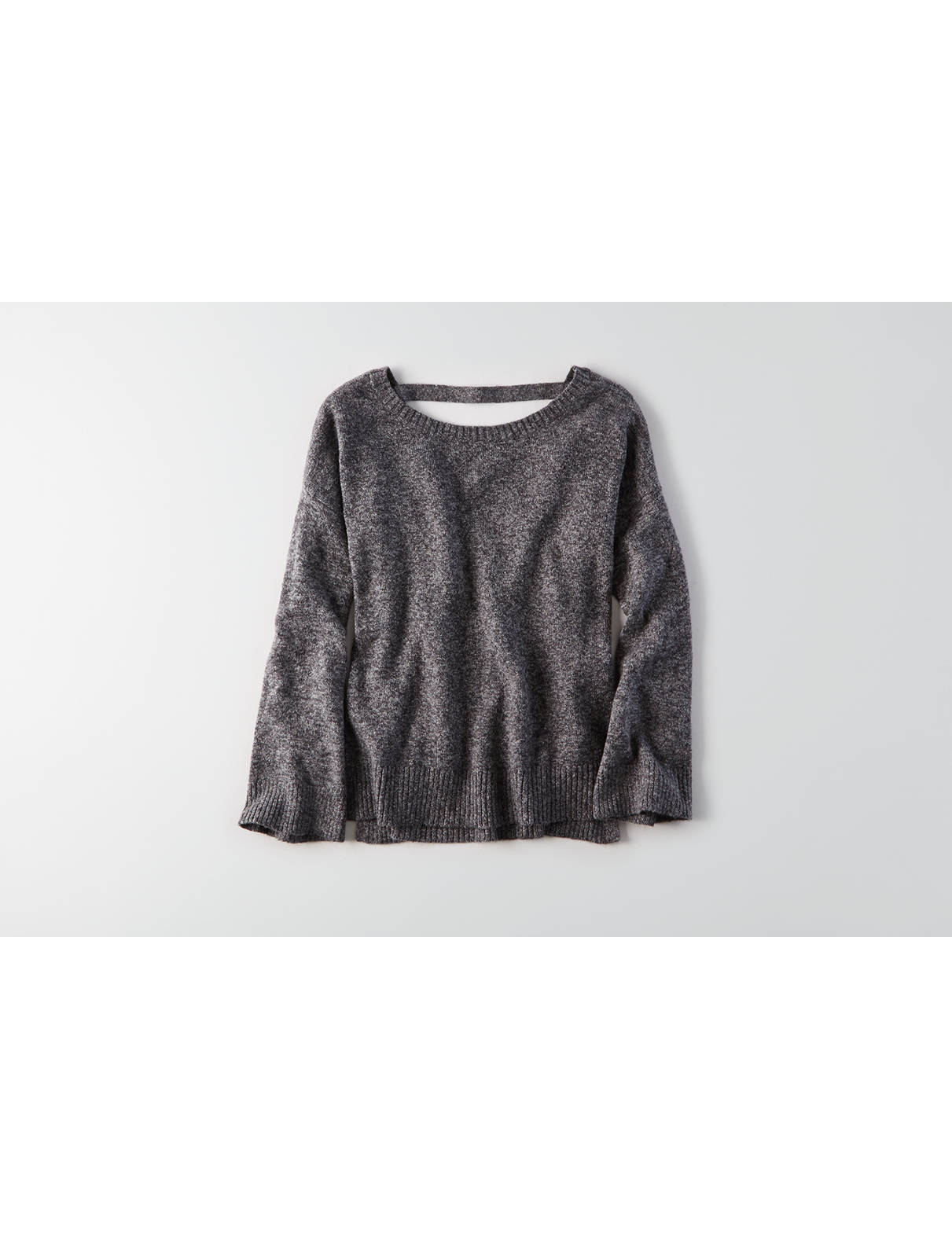 Display product reviews for AEO Open Back Sweater