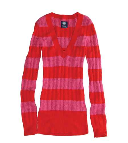 AE Striped Sweater