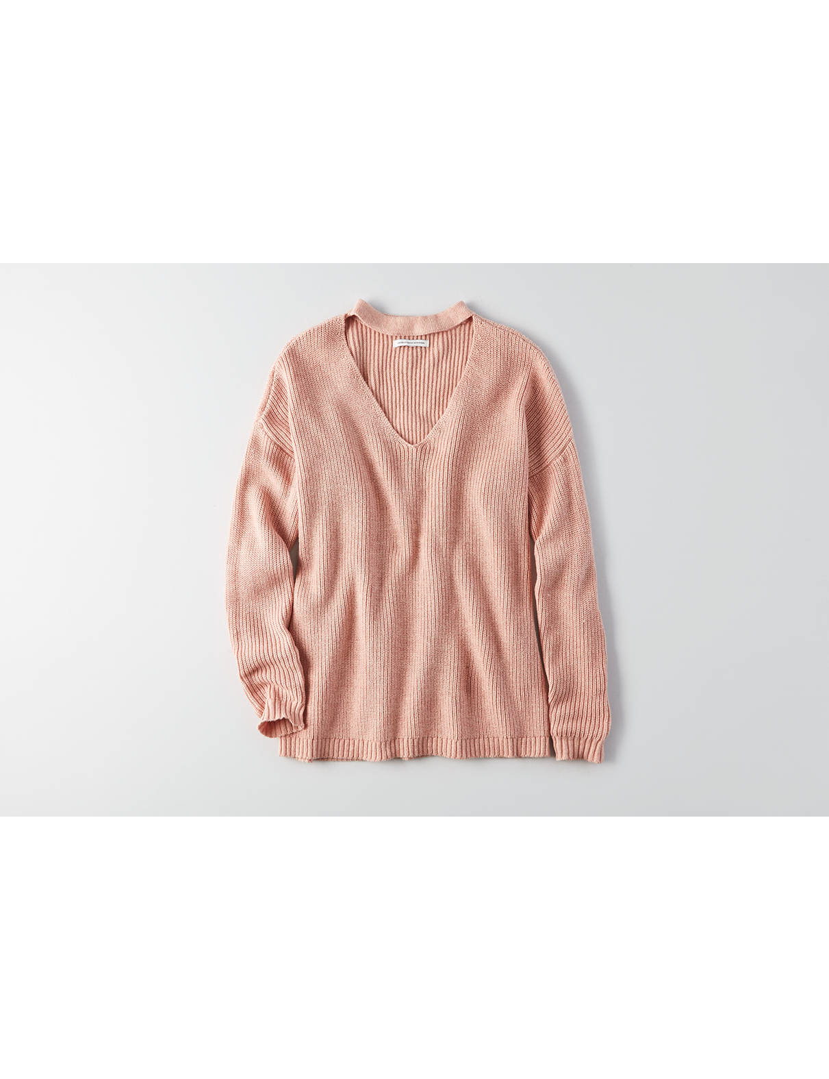 Display product reviews for AEO Choker Neck Sweater