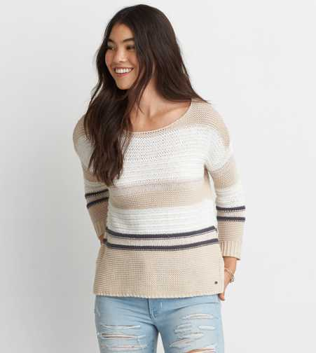 AEO Mix Stitch Sweater