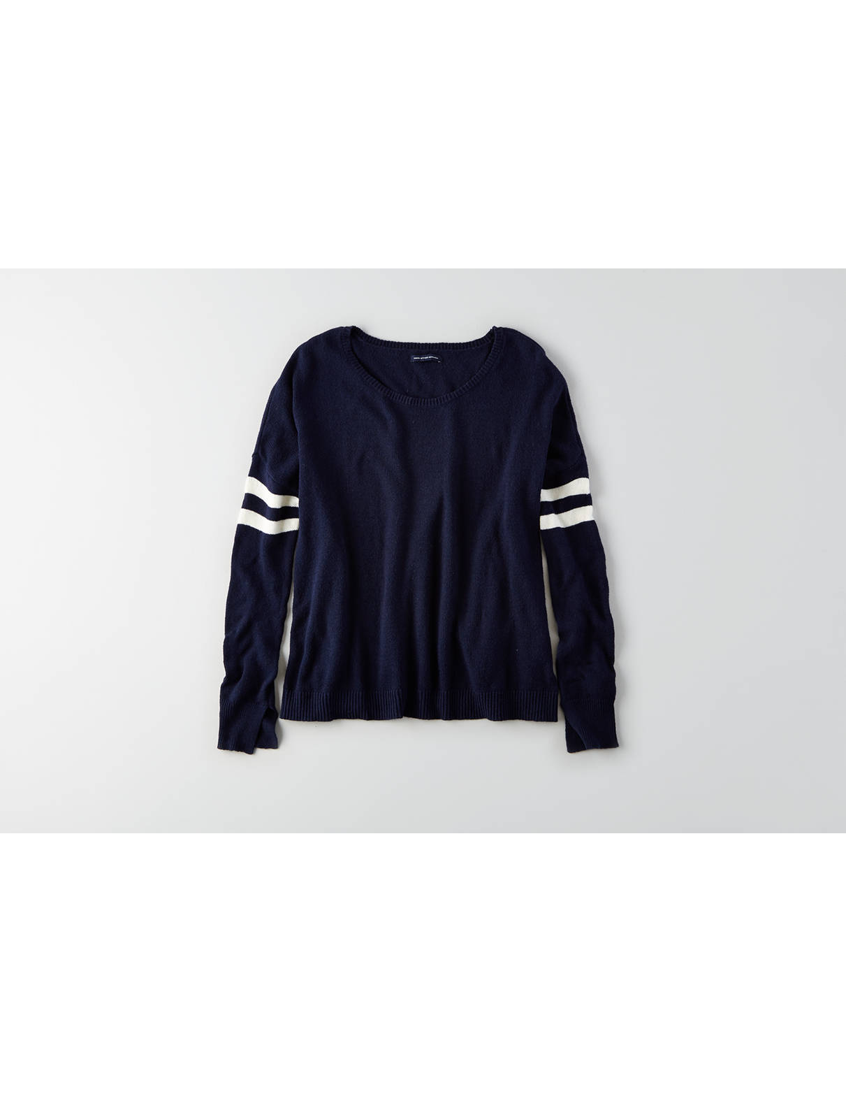 Display product reviews for AEO Striped Easy Sweater