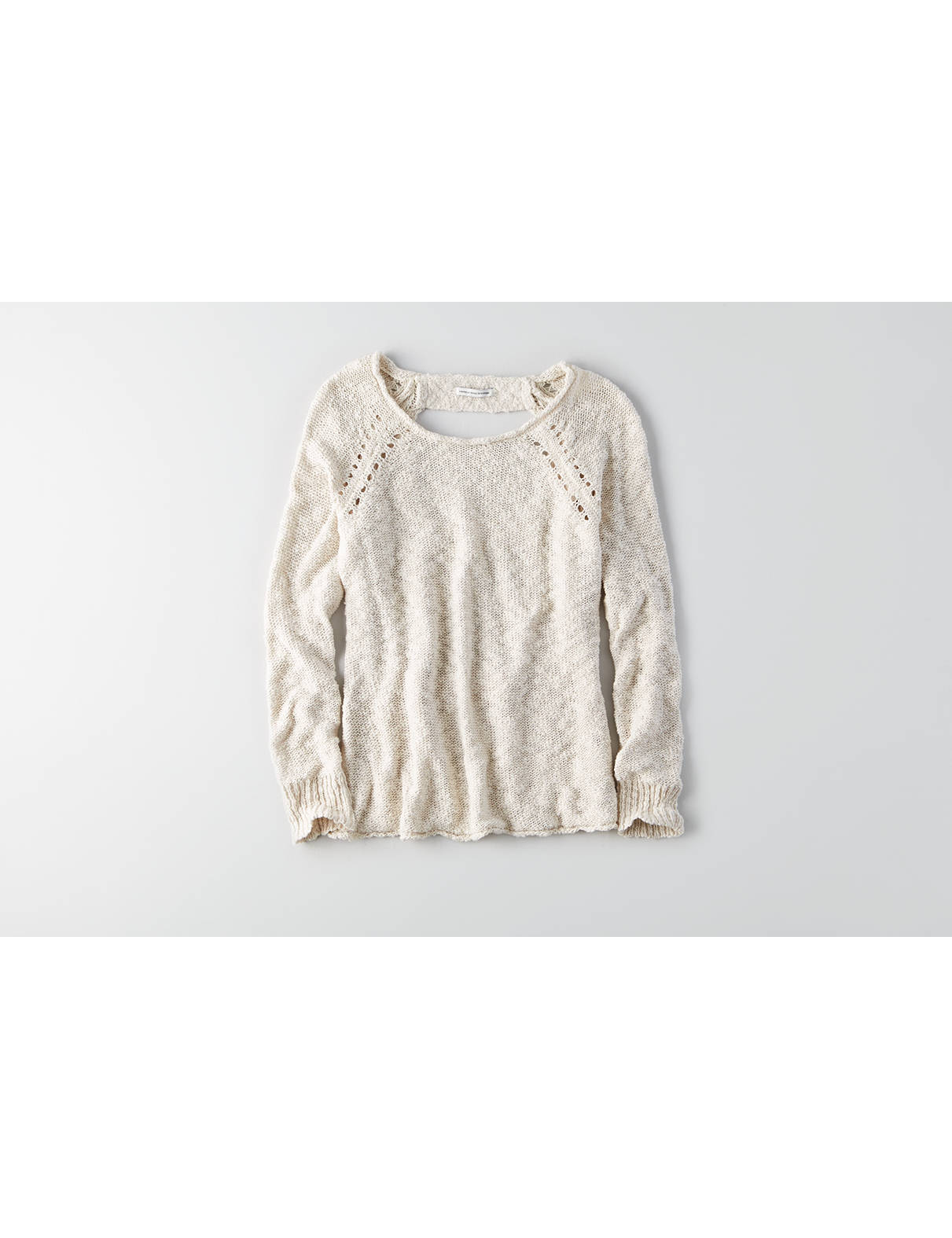Display product reviews for AEO Ladder Back Sweater