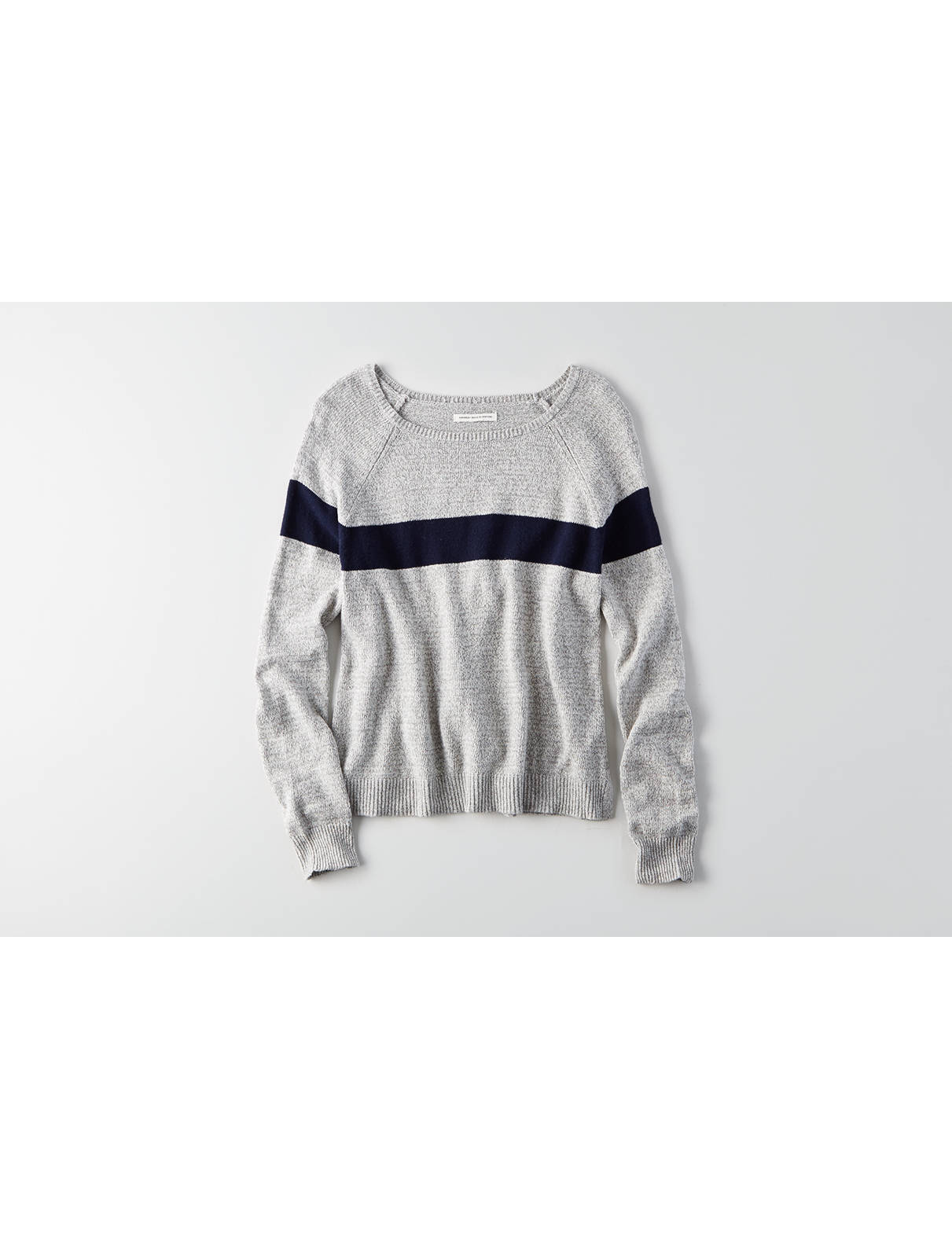 Display product reviews for AEO Easy Striped Sweater