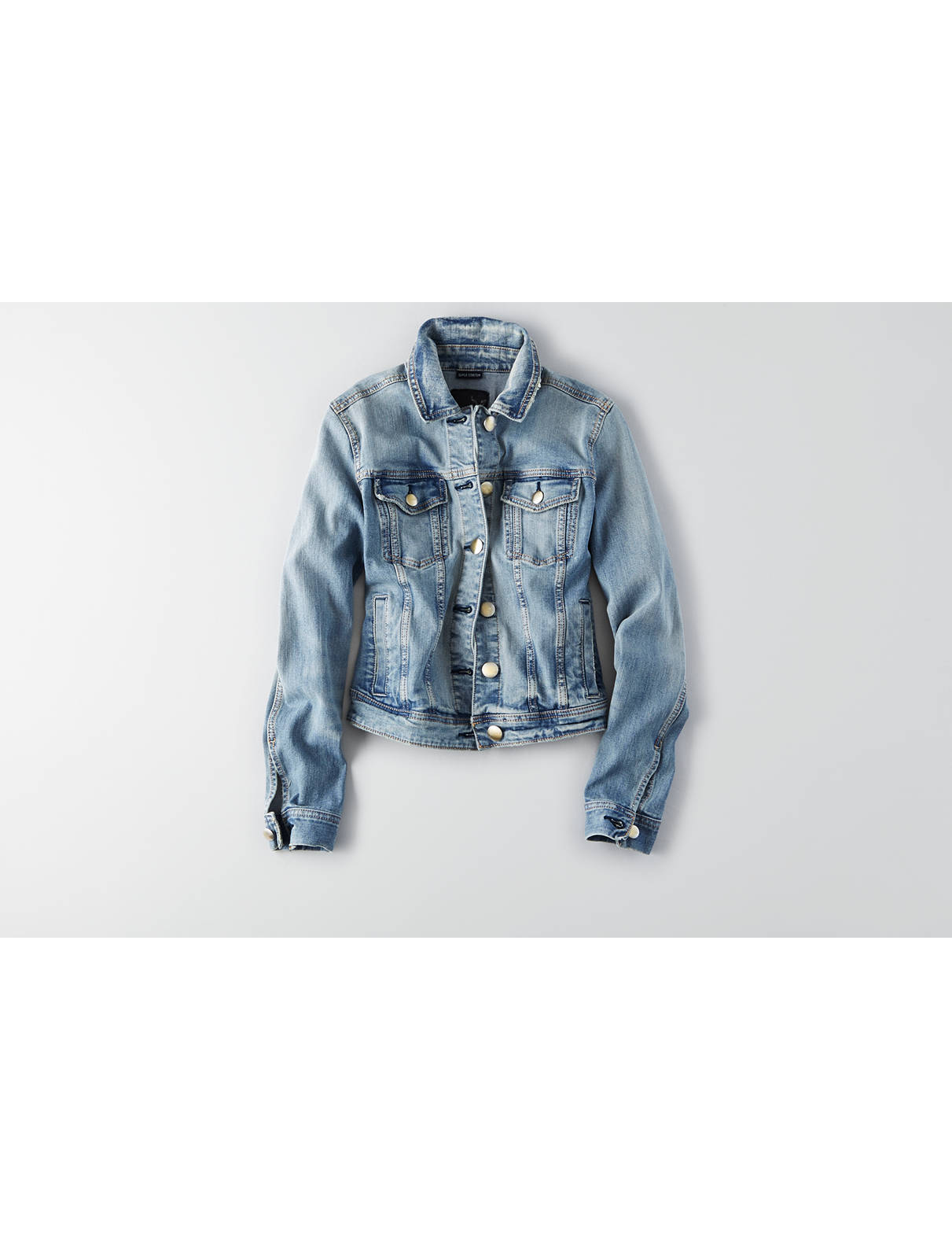 Display product reviews for AEO Denim X Jacket