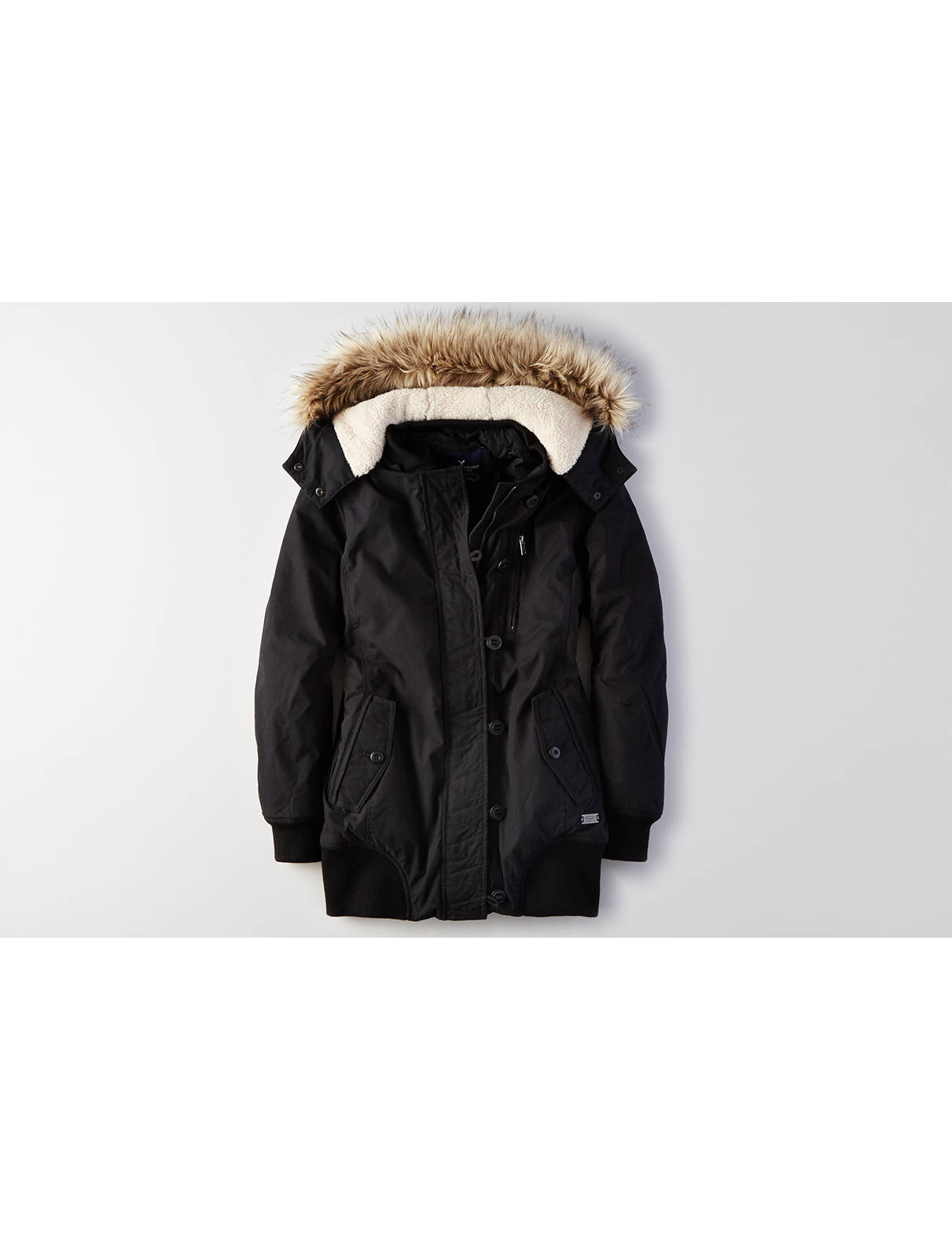 AEO Hooded Convertible Parka