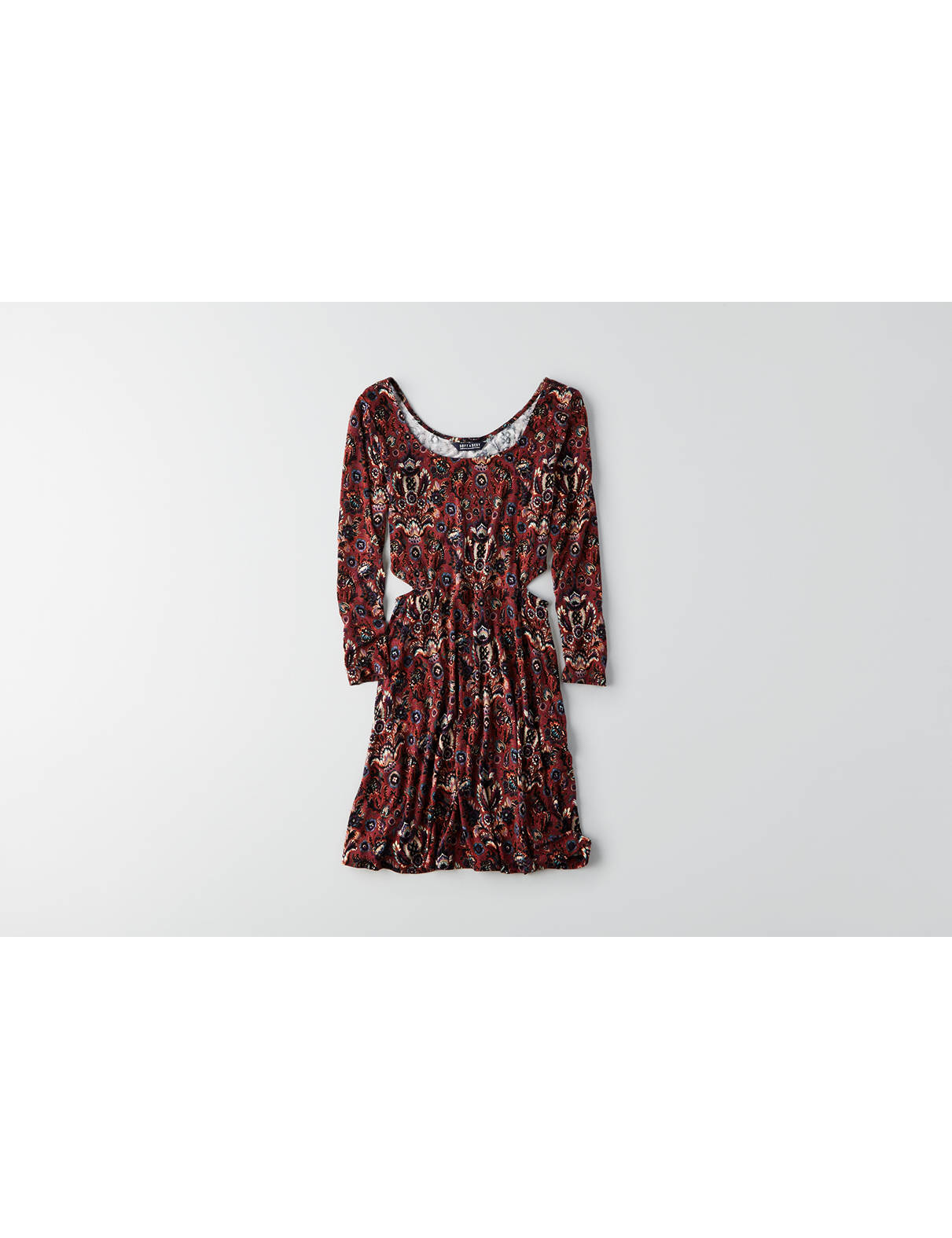 Display product reviews for AEO Soft & Sexy Fit & Flare Dress