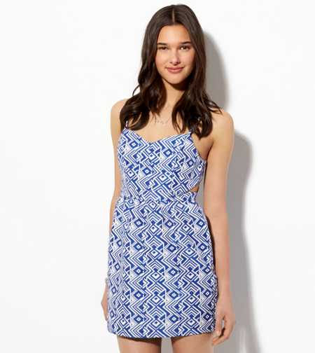 AE Cutout Jacquard Sundress
