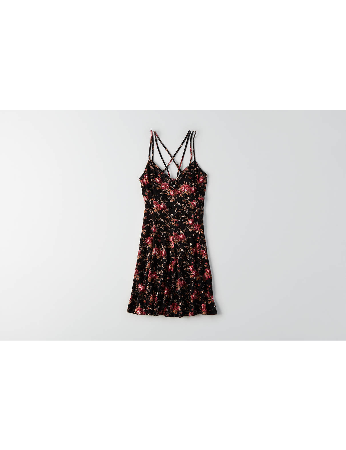 Display product reviews for AEO Printed Strappy Dress