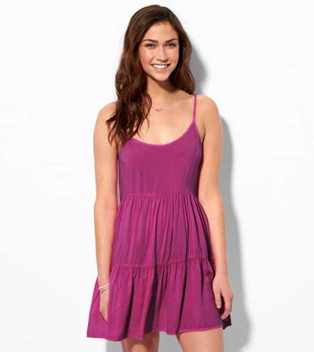 AE Soft Tiered Babydoll Dress