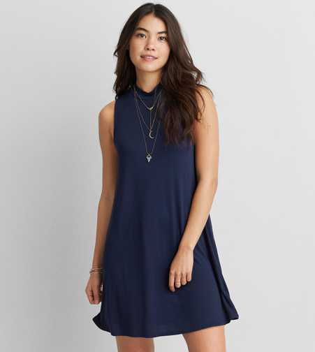 AEO Mock Neck Dress