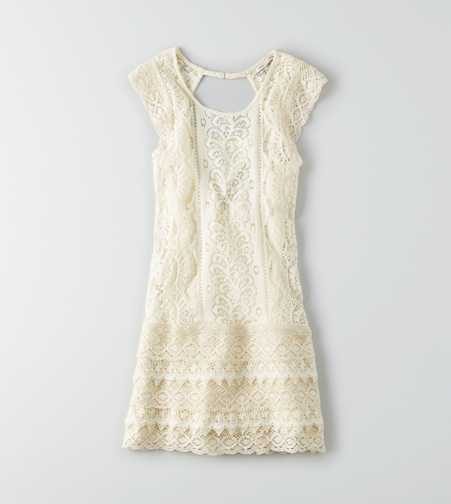 AEO Lace Shift Dress