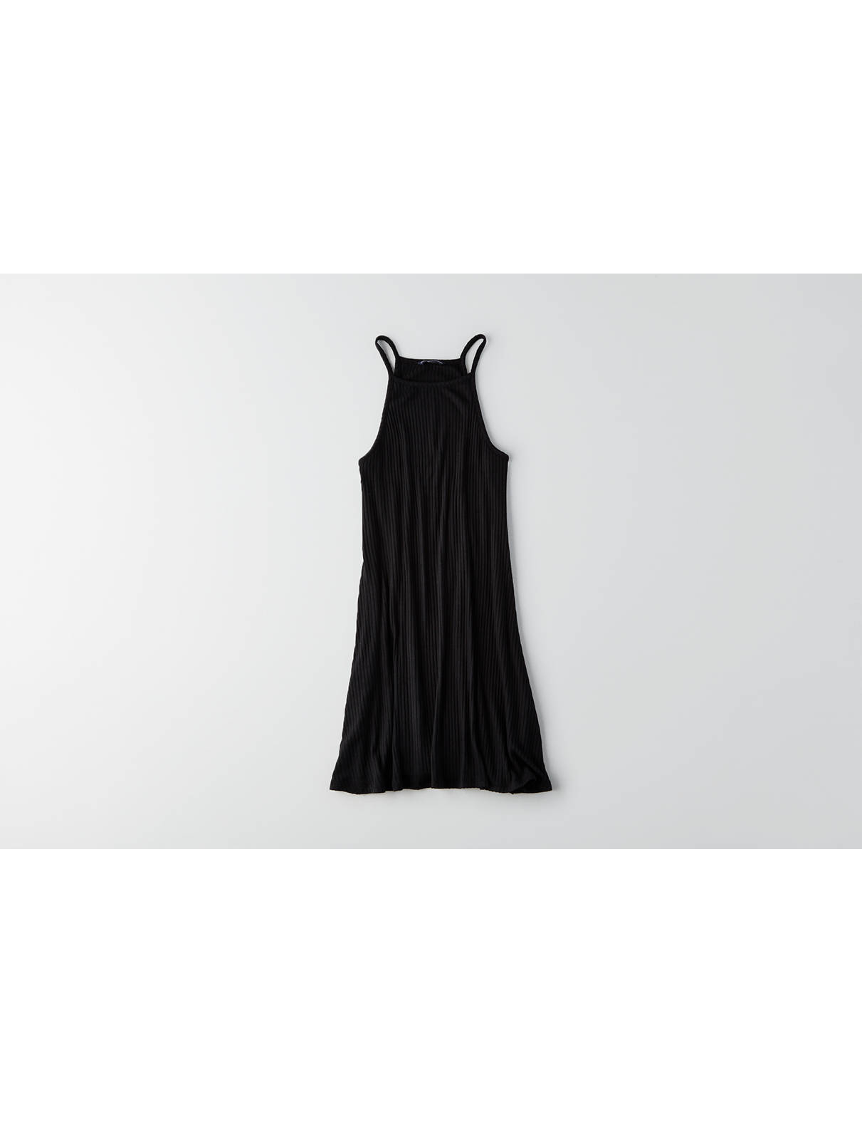 Display product reviews for AEO Ribbed Hi-Neck Dress