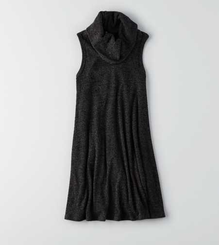 AEO Feather Light Cowl Neck Dress