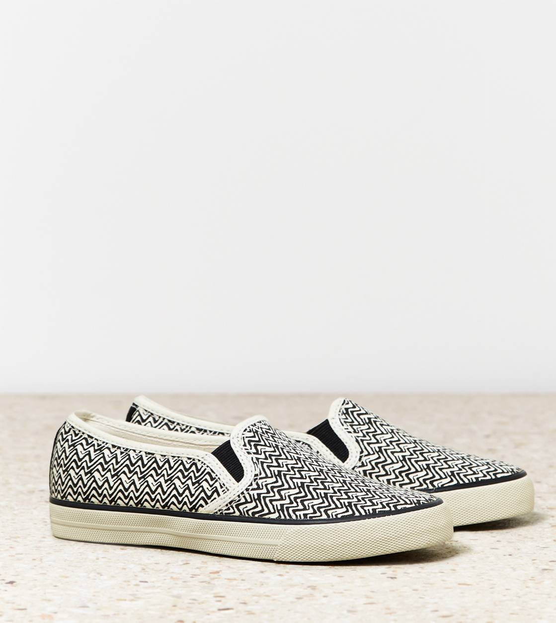 Black AEO Slip-On Sneaker