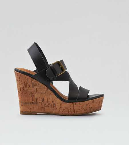 AEO Strappy Wedge Sandal  - Free Shipping