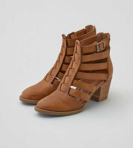 AEO Strappy Cutout Bootie
