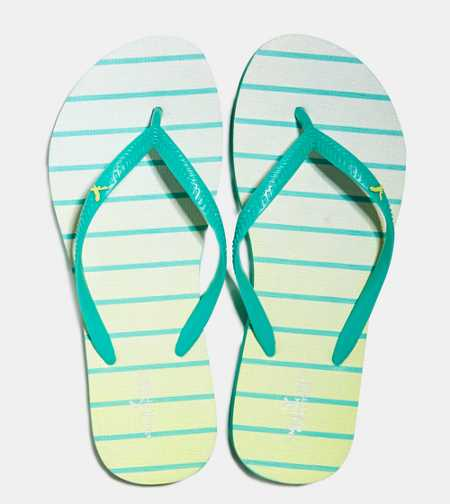 AEO Printed Rubber Flip Flop - Buy One Get One 50% Off & Free Shipping