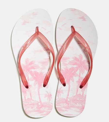 AEO Printed Rubber Flip Flop - Buy One Get One 50% Off