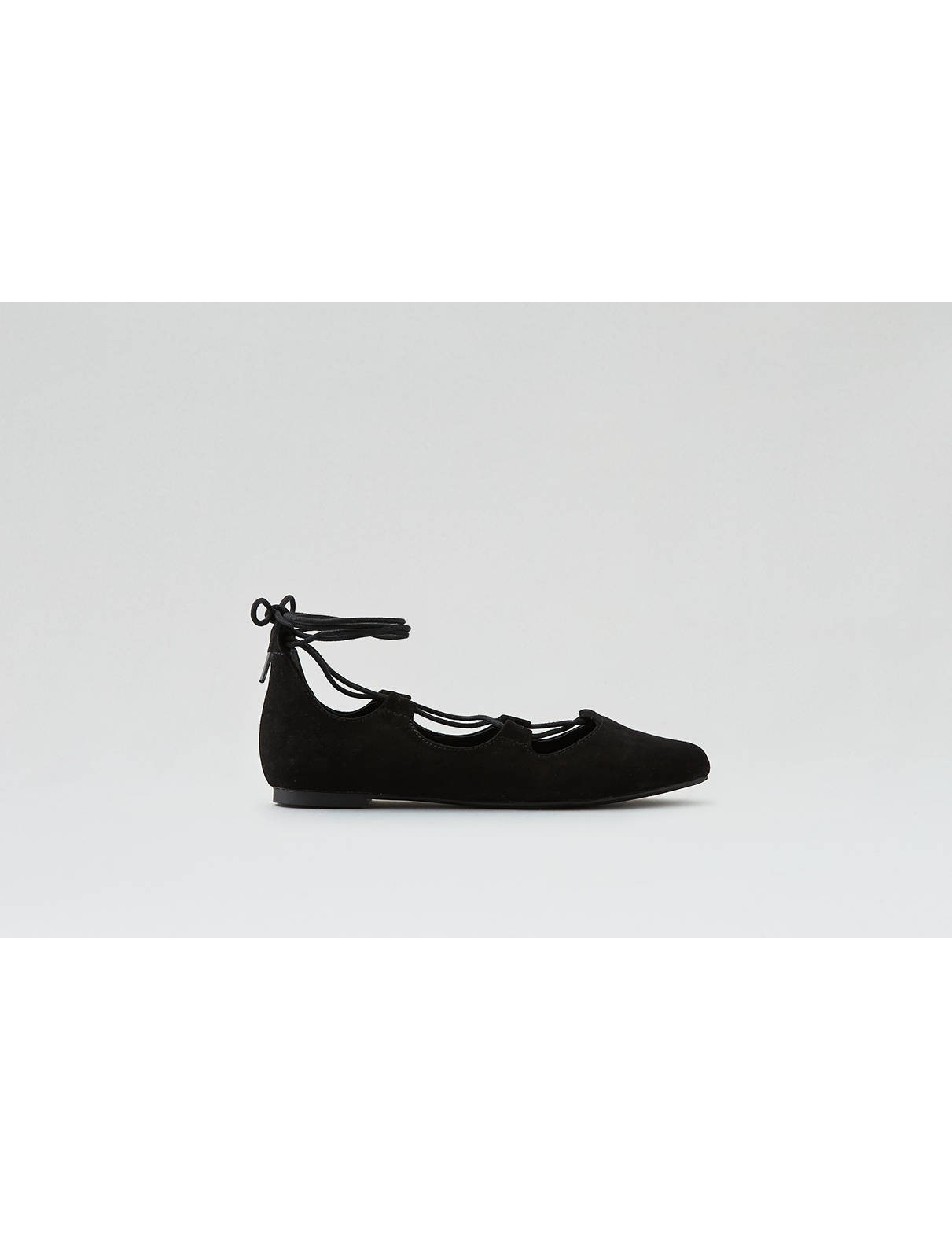 Display product reviews for AEO Pointed Toe Lace-Up Flat