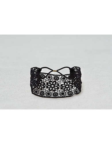 AEO Black Lace Headband  - Buy One Get One 50% Off