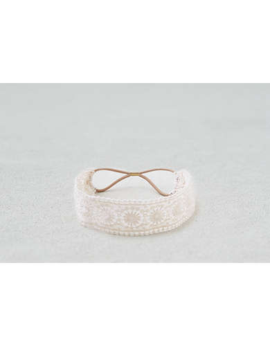 AEO Cream Lace Headband  - Buy One Get One 50% Off