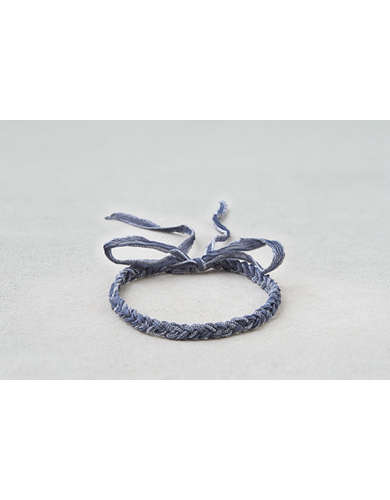 AEO Blue Braided Headband  -