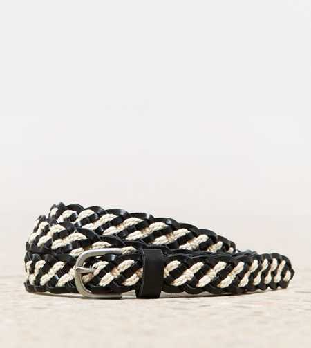 AEO Mixed Media Braided Belt