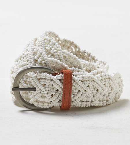 AEO Woven Macrame Belt - Buy One Get One 50% Off