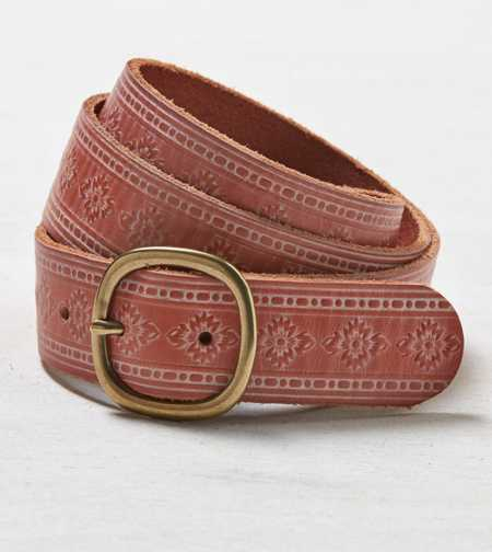 AEO Embossed Leather Belt - Buy One Get One 50% Off