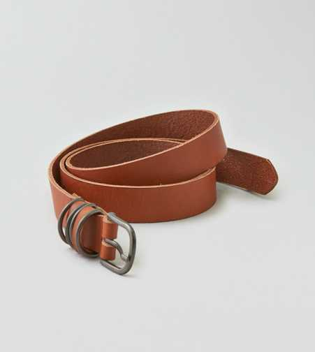 AEO Metal Keeper Leather Belt
