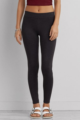 AEO Hi-Rise Heathered Legging - Available in Lengths!
