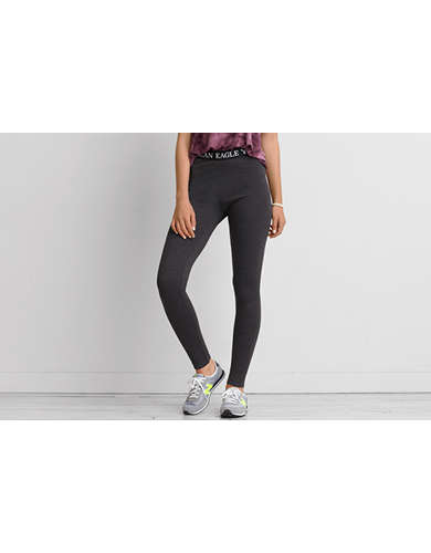 Womens Grey Leggings