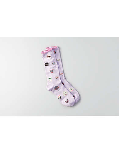 AEO Animal Crew Socks  -