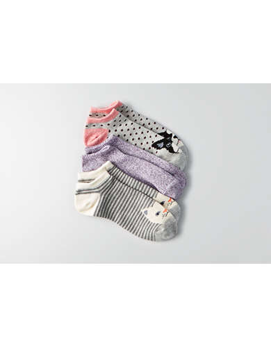 AEO Animals Shortie Socks 3-Pack  - Buy One Get One 50% Off