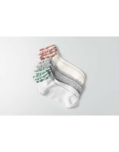 AEO Ruffled Ankle Socks 3-Pack  - Buy One Get One 50% Off