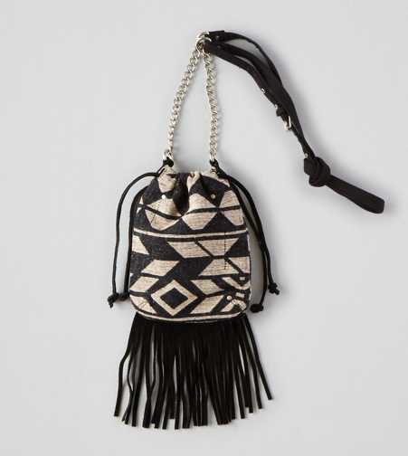 AEO Fringe Crossbody Purse