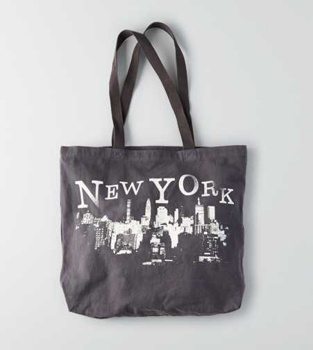 AEO NYC Graphic Tote